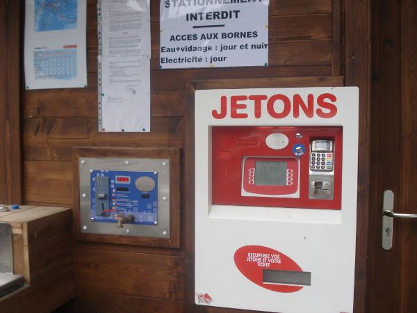 distribution énergie borne paiement